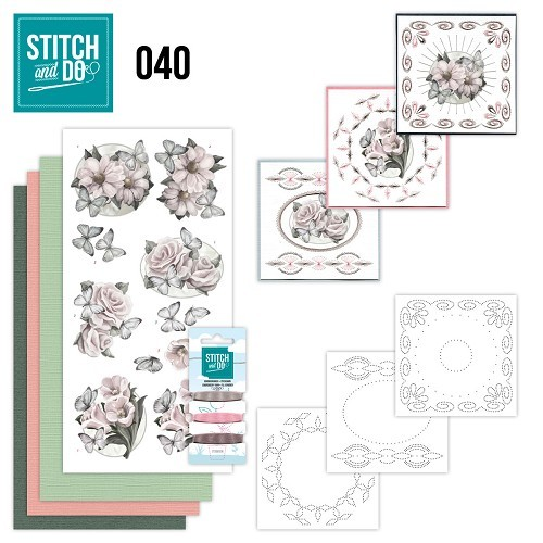 Borduurpakketje Stitch and Do 40 - Condoleance