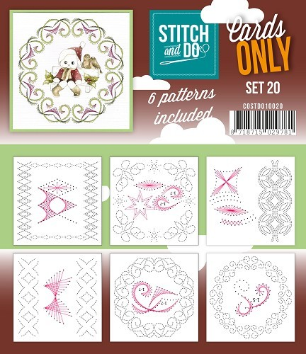 Stitch & Do - Cards only - set 20