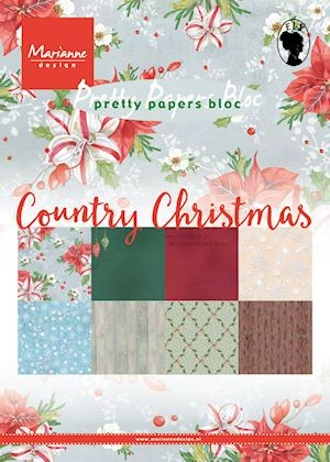 MD Pretty Papers bloc A5 Country Christmas