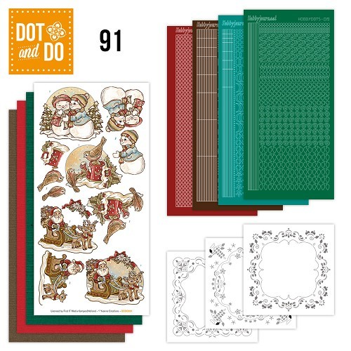 Dot and Do 91 - Holly Jolly Mix