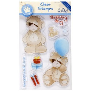 Docrafts clearstempel Teddy Bear