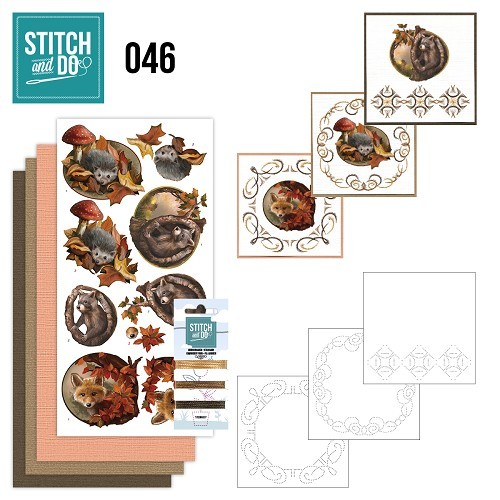 Borduurpakketje Stitch and Do 46 - Autumn