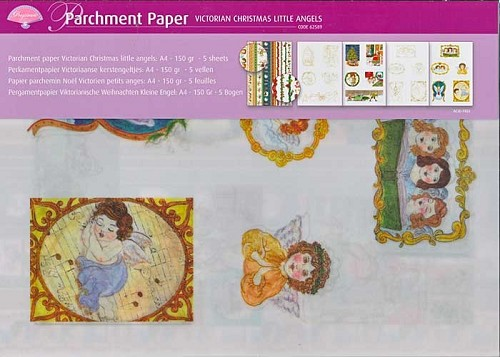 Pergamano Perkament/Vellum Victorian Christmas Little Angels