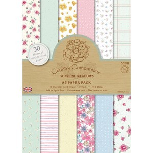 Country Companions A5 Paperpack Sunshine Meadows