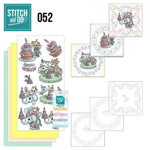 Borduurpakketje Stitch and Do 52 - Tods and Toddlers