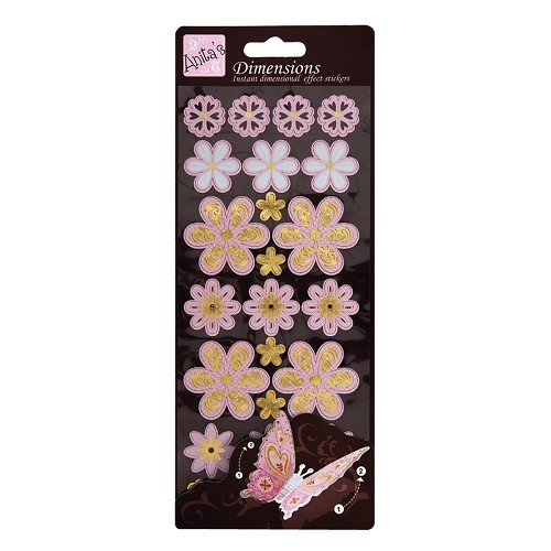 Anita's Stickervel Dimensions Soft Floral