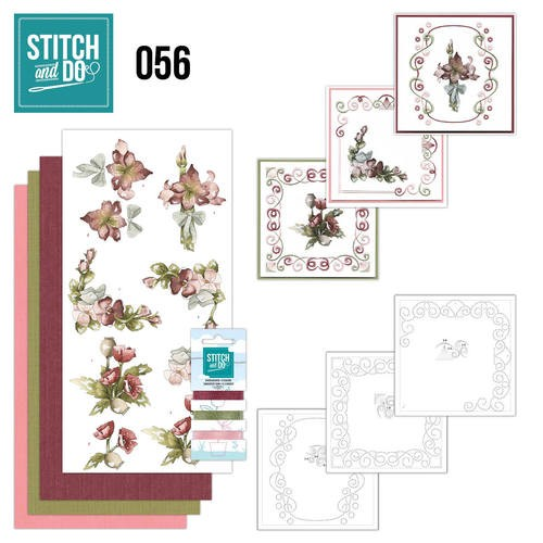 Borduurpakketje Stitch and Do 56 - Fantastic Flowers