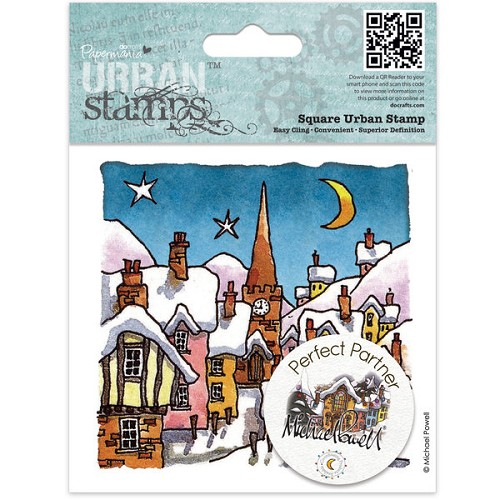 Docrafts Rubber stamp Urban Night Before Christmas
