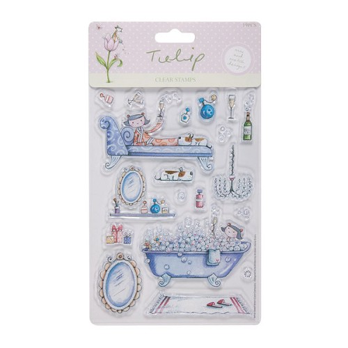 Tulip Clear stempel Relaxation