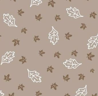 Scrapbook paper 30,5x30,5cm 5 vellen Leaves