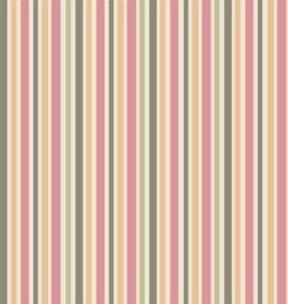 Scrapbook paper 30,5x30,5cm 5 vellen Stripes pink