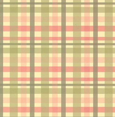 Scrapbook paper 30,5x30,5cm 5 vellen Scottish Tartan green