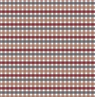 Scrapbook paper 30,5x30,5cm 5 vellen Scottish Tartan brown