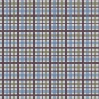 Scrapbook paper 30,5x30,5cm 5 vellen Scottish Tartan brownblue