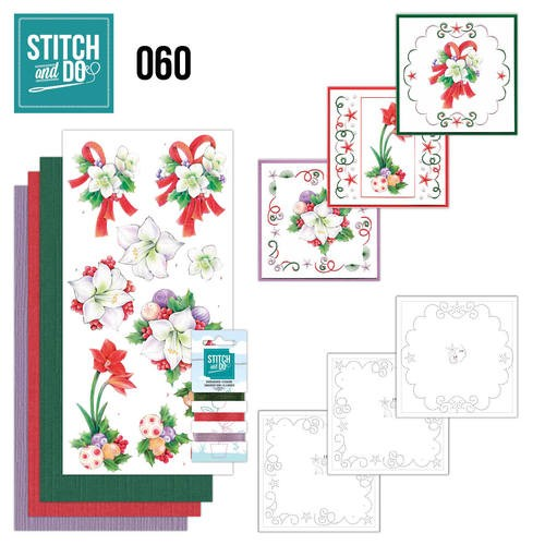 Borduurpakketje Stitch and Do 60 - Christmas Classics
