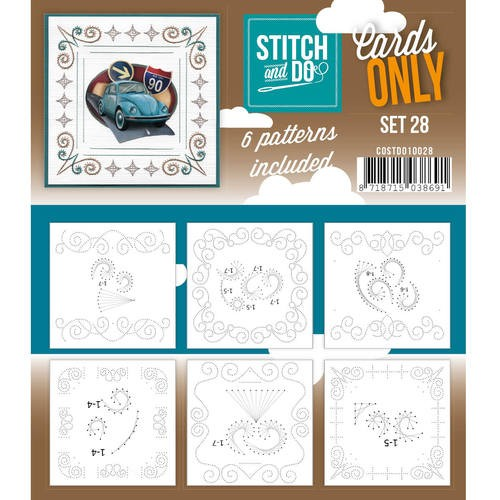 Stitch & Do - Cards only - set 28