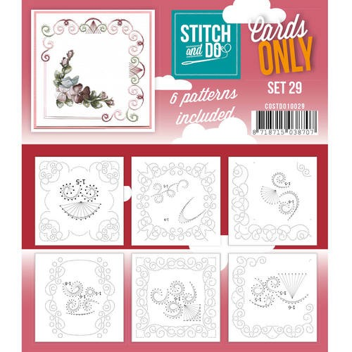 Stitch & Do - Cards only - set 29