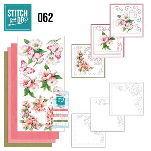 Borduurpakketje Stitch and Do 62 - Condoleance