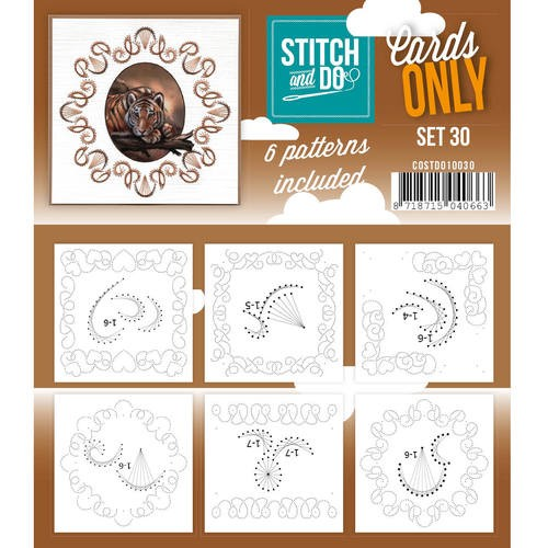 Stitch & Do - Cards only - set 30
