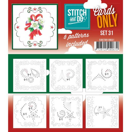 Stitch & Do - Cards only - set 31