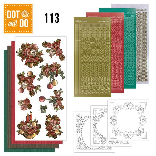 Dot and Do 113 - Christmas Flowers