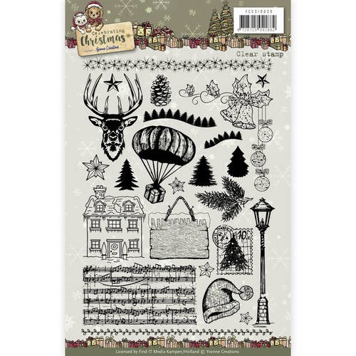 Clearstamp - Yvonne Creations - Celebrating Christmas