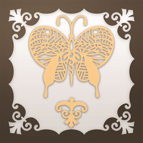 Ultimate Crafts snijmal Deco Butterfly Set