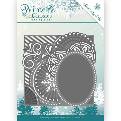 Jeaninnes Art Die - Winter Classics Curly Frame