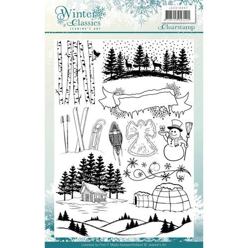 Clearstamp - Jeaninnes Art - Winter Classics