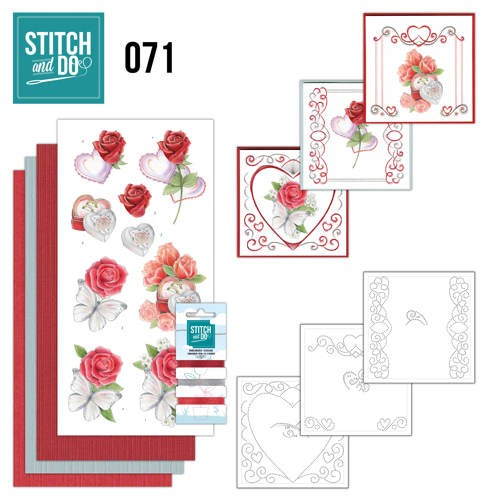Borduurpakketje Stitch and Do 71 - Wedding