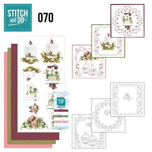 Borduurpakketje Stitch and Do 70 - Christmas