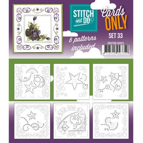 Stitch & Do - Cards only - set 33