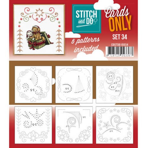 Stitch & Do - Cards only - set 34