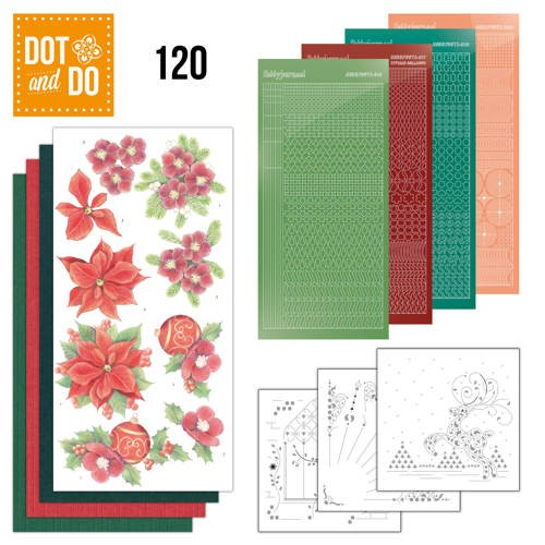 Dot and Do 120 - Amy Design - Kerstbloemen