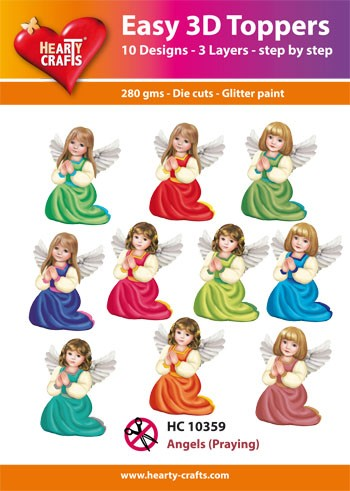 Easy 3D Toppers Angels