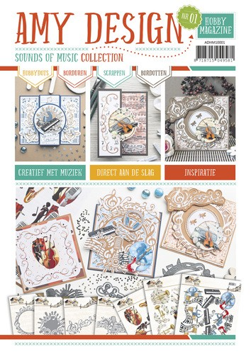 Hobby Magazine Amy Design Sound of Music Collection