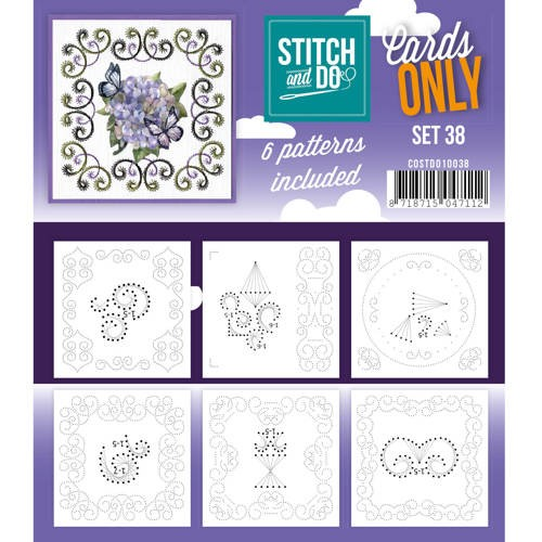 Stitch & Do - Cards only - set 38