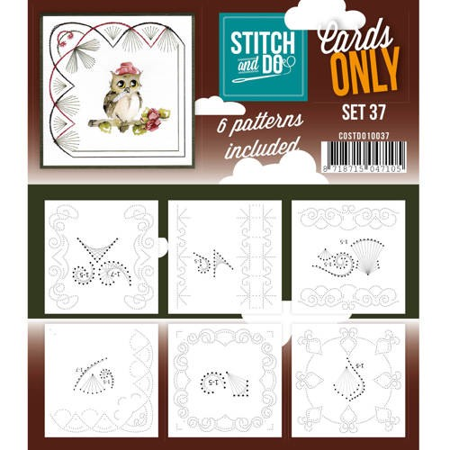 Stitch & Do - Cards only - set 37