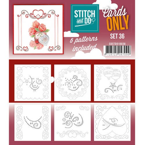 Stitch & Do - Cards only - set 36