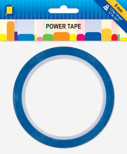 Professional Dubbelzijdige en Transparante Power Tape 10mtr x 9 mm