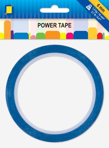 Professional Dubbelzijdige en Transparante Power Tape 10mtr x 6 mm