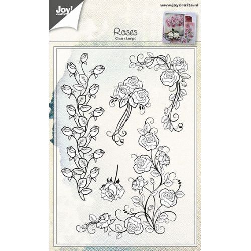 Joy! Clearstempel set Roses