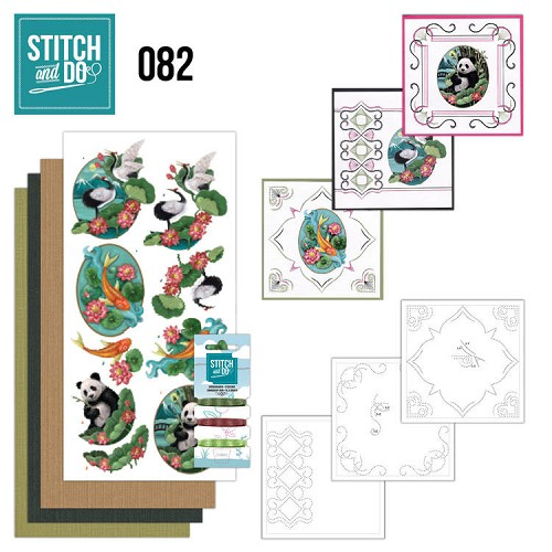 Borduurpakketje Stitch and Do 82 - Oriental