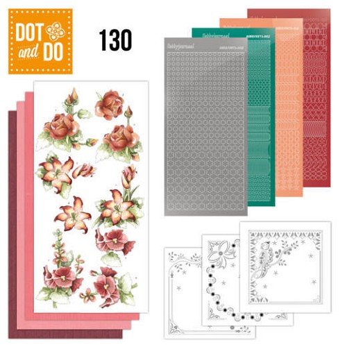 Dot and Do 130 - Timeless Red Flowers