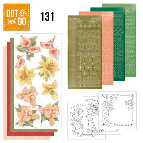 Dot and Do 131 - Yellow Flowers