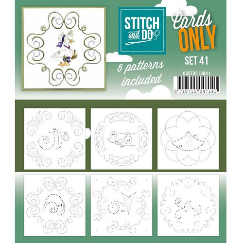 Stitch & Do - Cards only - set 41