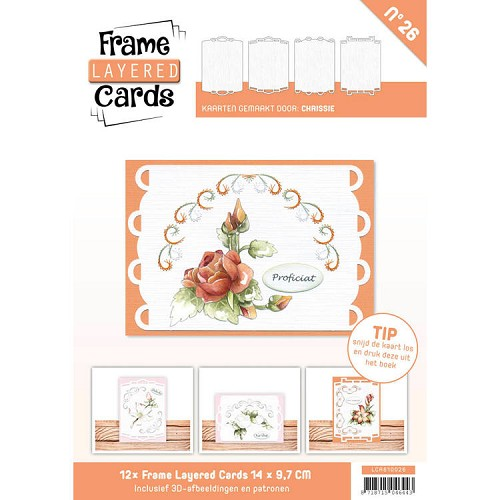 Boek Frame Layered Cards 26 - A6