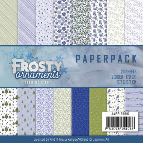 Paperpack - Jeaninnes Art - Frosty Ornaments