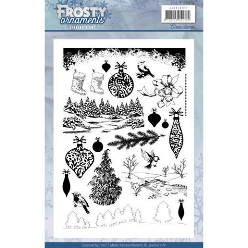 Clearstamp - Jeaninnes Art - Frosty Ornaments