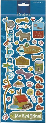 Stickervel Dogs